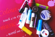 Kolekcija balzama za usne – dio prvi
