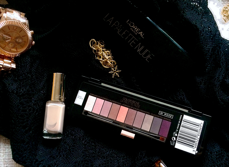 L'Oréal La Palette Nude 01 Rosé back