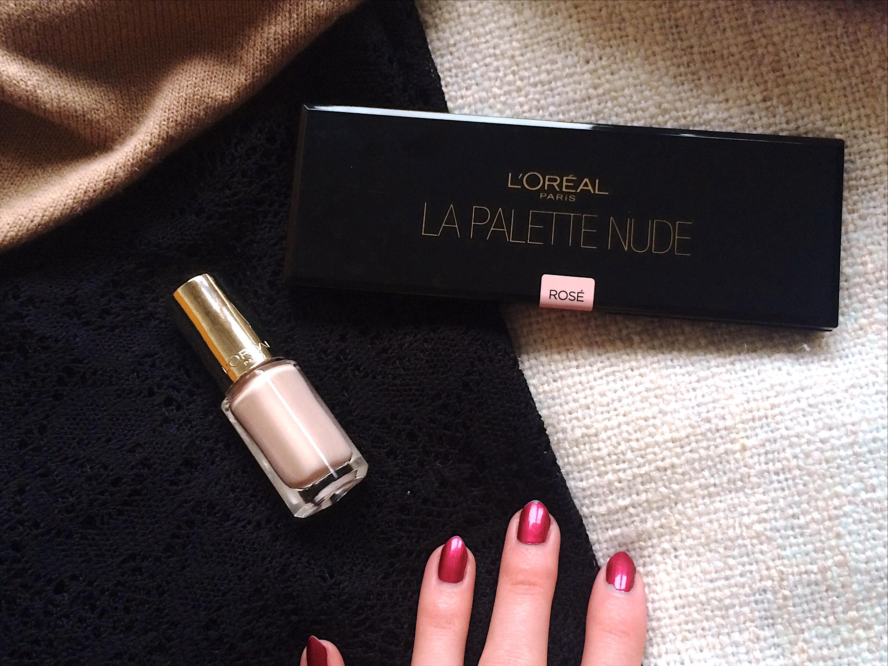 L'Oréal La Palette Nude 01 Rosé closed
