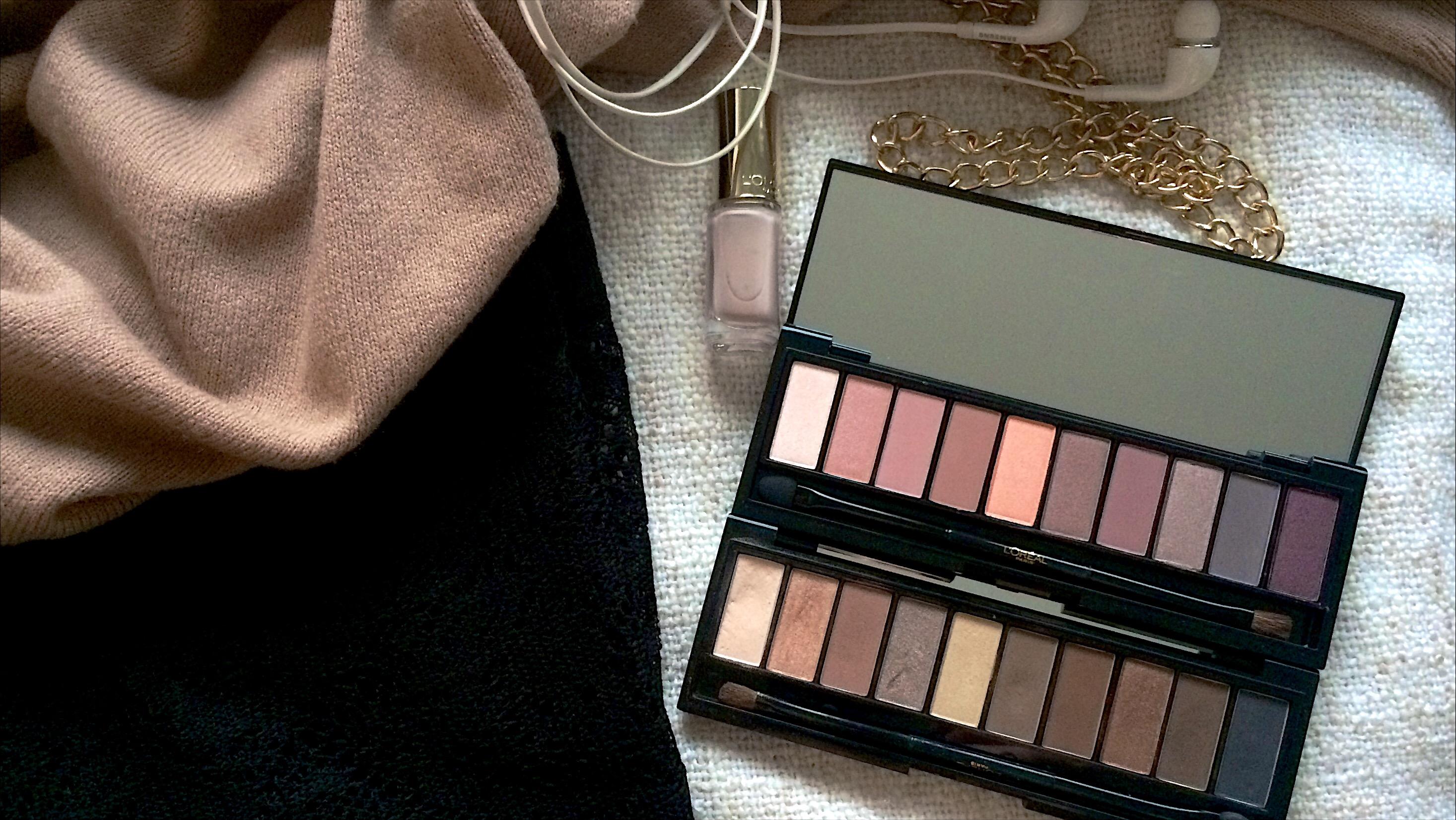 L'Oréal La Palette Nude 01 Rosé 02 Beige open