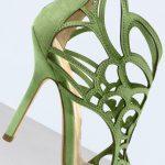 Green Regilla heels