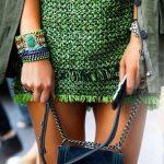Green etno look