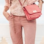 pink fashion outfit trend with corals