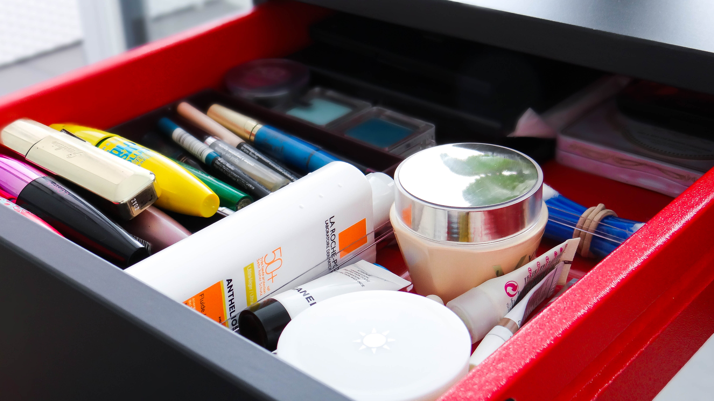 IKEA Brimnes vanity desk Cydonia drawer makeup