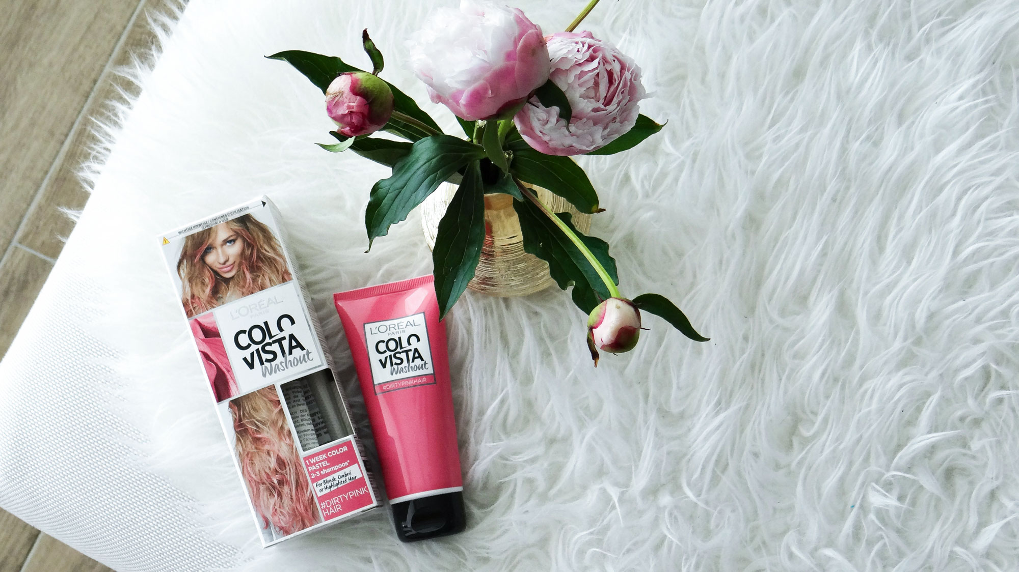 L'Oreal Colorista Washout Dirty Pink hair dye Cydonia review