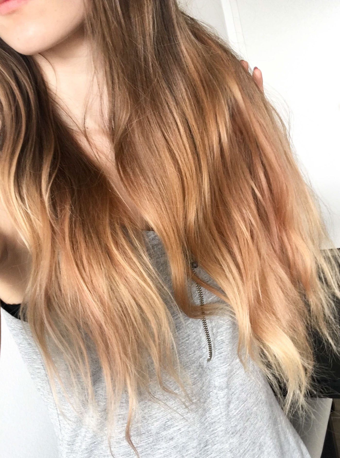L'Oreal Colorista Washout Dirty Pink hair dye hair after one wash Cydonia